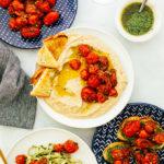 Garlic Herb Burst Tomatoes