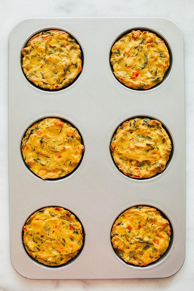 Vegan Veggie Egg Breakfast Sandwich