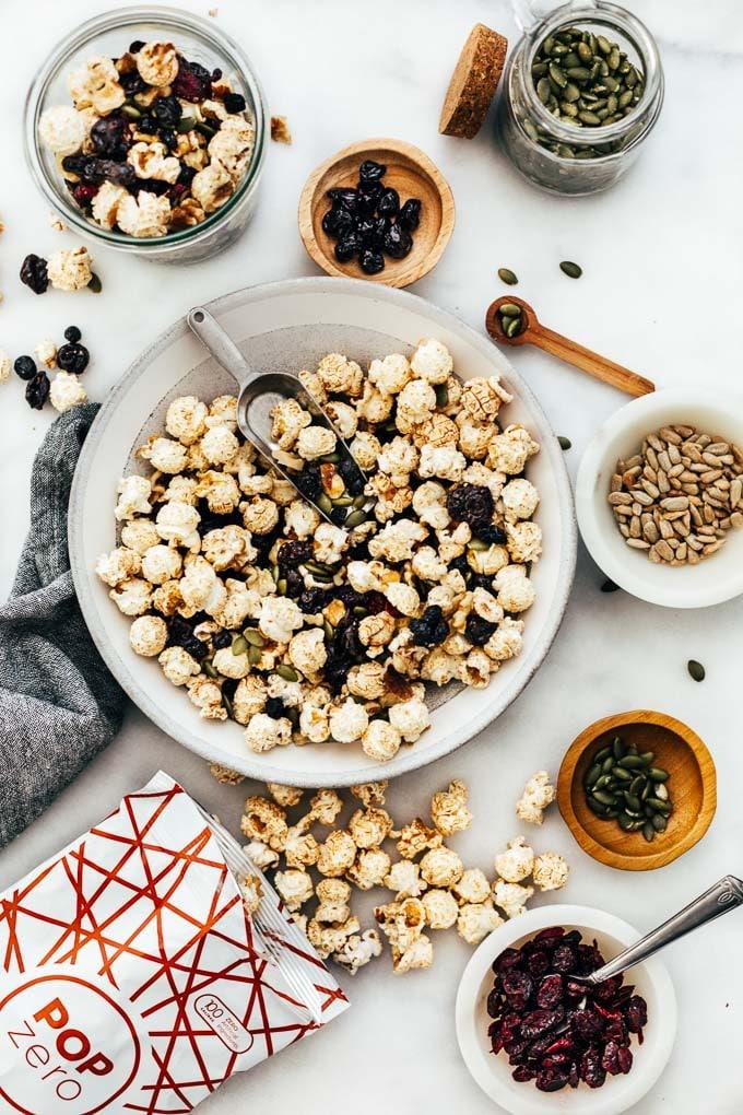 Cinnamon Popcorn Power Snack Mix