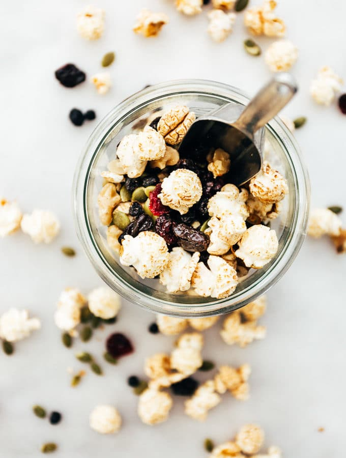 Cinnamon Popcorn Power Snack Mix